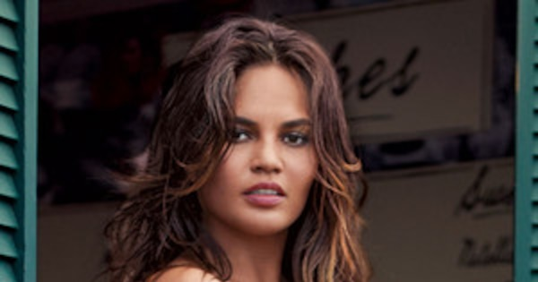Chrissy Teigen strips completely naked after X-rated shoot