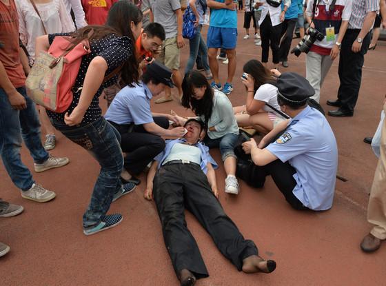 David Beckham, China Stampede