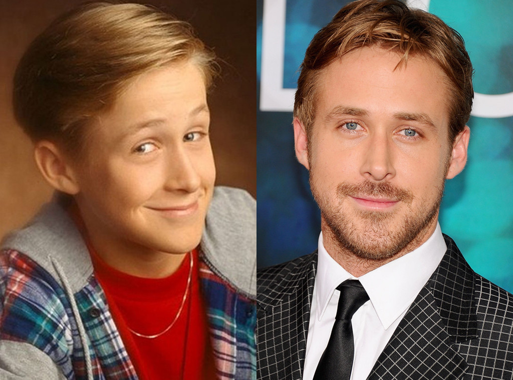 Ryan Gosling, Then and now