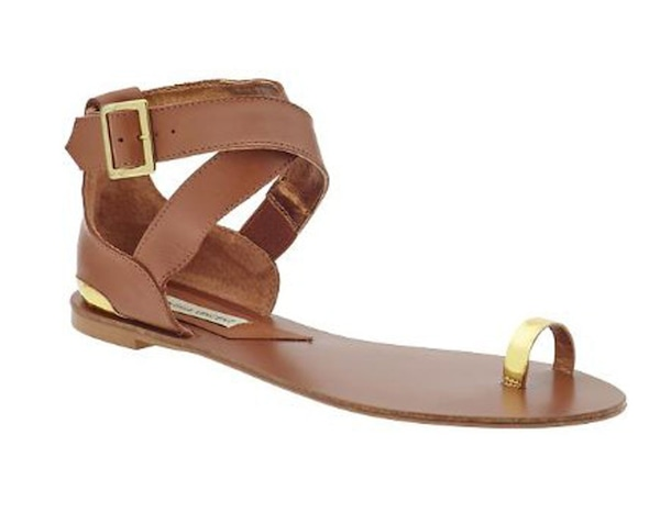 Cynthia Vincent Leather Sandals from Rachel Zoe's ...