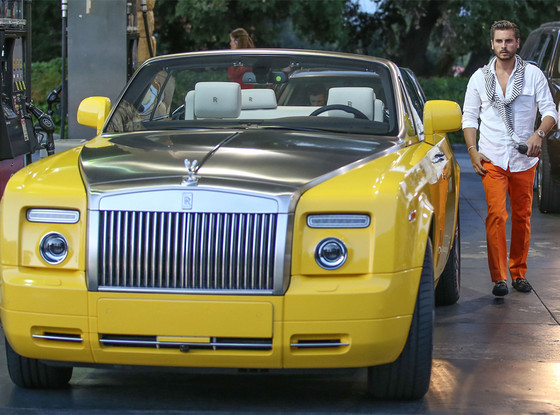 Scott Disick's New Yellow Rolls Royce— It or Leave It? on ...