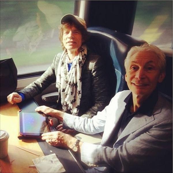 Mick Jagger, Charlie Watts