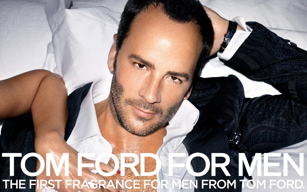 Tom Ford, Hot guys of advertising