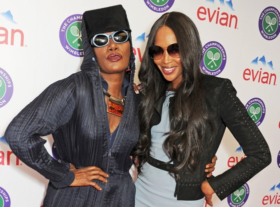 Grace Jones, Naomi Campbell, Wimbledon