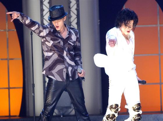 Justin Timberlake, Michael Jackson
