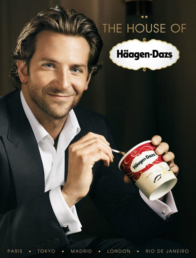 Bradley Cooper, Hot guys of advertising