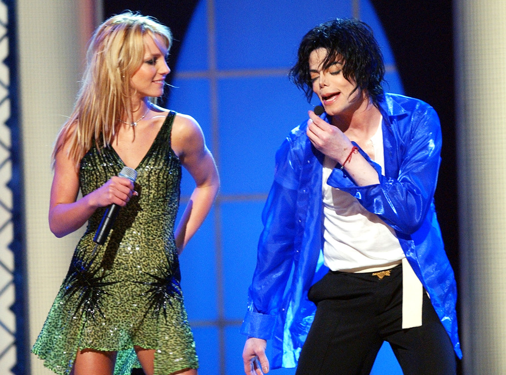 Britney Spears, Michael Jackson