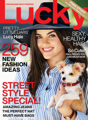 Lucy Hale, Lucky Magazine