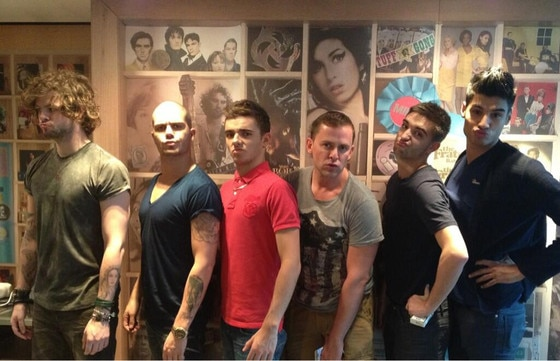 The Wanted, Twit Pic
