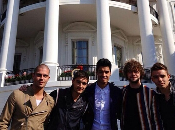 The Wanted, Instagram