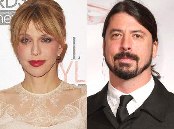 Courtney Love, Dave Grohl