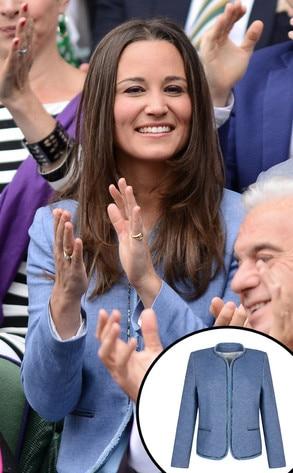 Pippa Middleton, Sandro Jacket