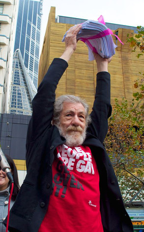Sir Ian McKellen, Marriage Equality