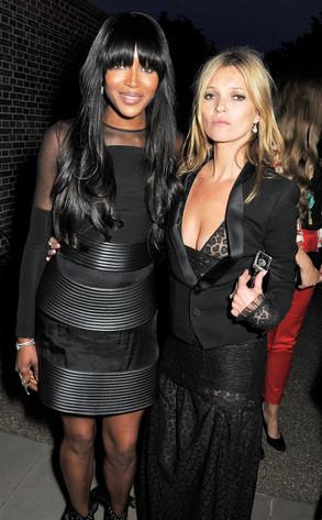 Naomi Campbell, Kate Moss