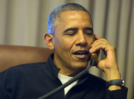 President Barack Obama, Twit Pic