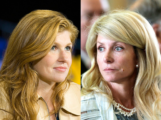 Wendy Davis, Connie Britton