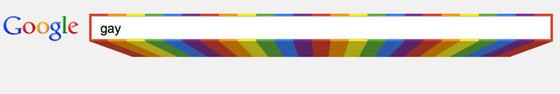 Google Search Bar, Gay
