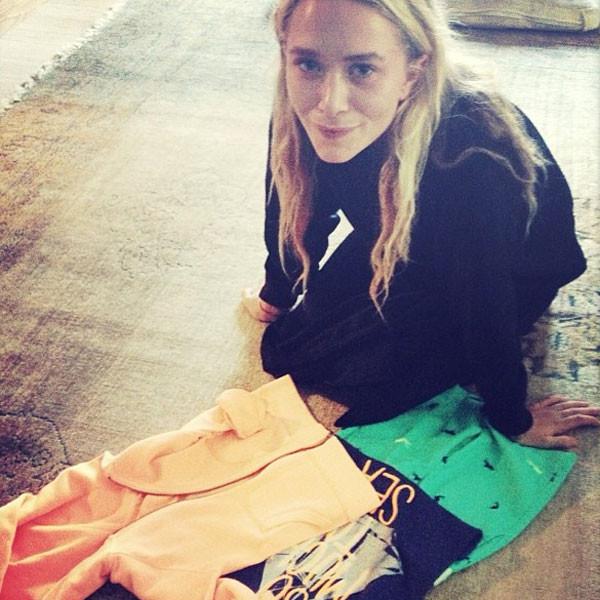 Mary Kate Olsen, Instagram