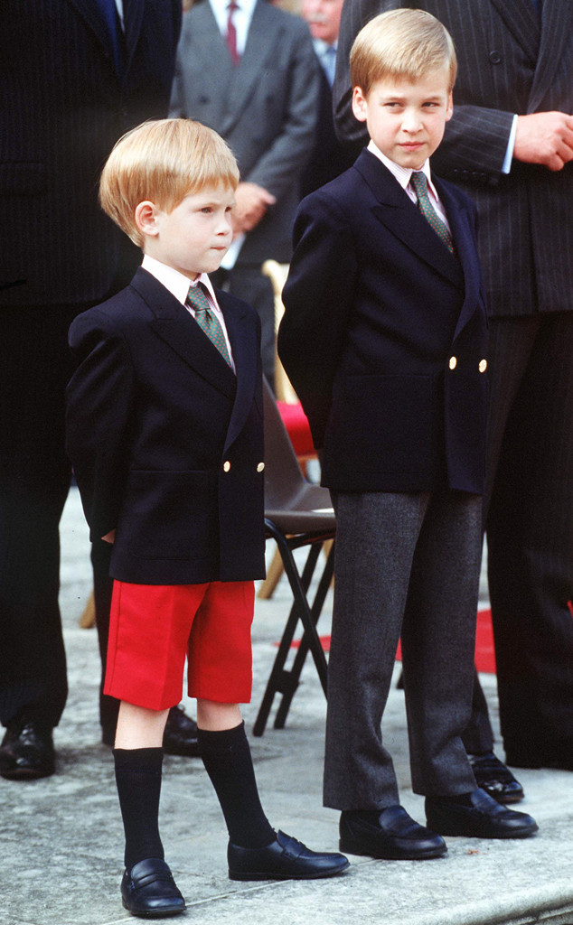 Prince William, Prince Harry, Children