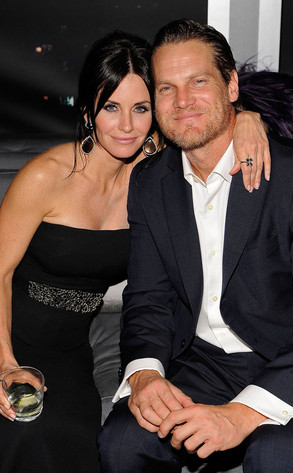 Courteney Cox, Brian Van Holt