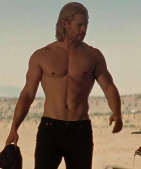 Super Herois sem camisa
