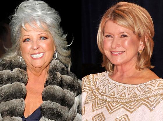 Paula Deen, Martha Stewart