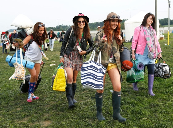 Glastonbury Music Festival Fashion