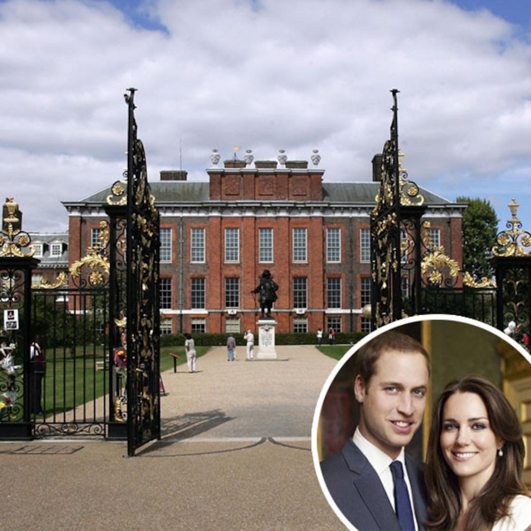 Inside Will Kate S Kensington Palace Apartment E Online