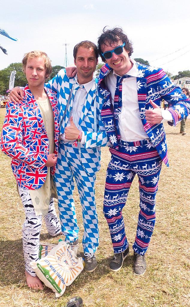 Glastonbury Music Festival Fashion