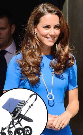 Kate Middleton, Duchess of Cambridge, Bugaboo Stroller