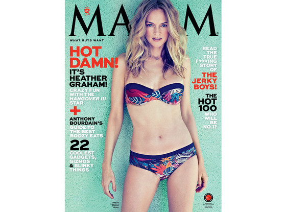 Heather Graham, Maxim Cover
