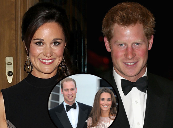 Prince Harry, Pippa Middleton, Prince William, Kate Middleton