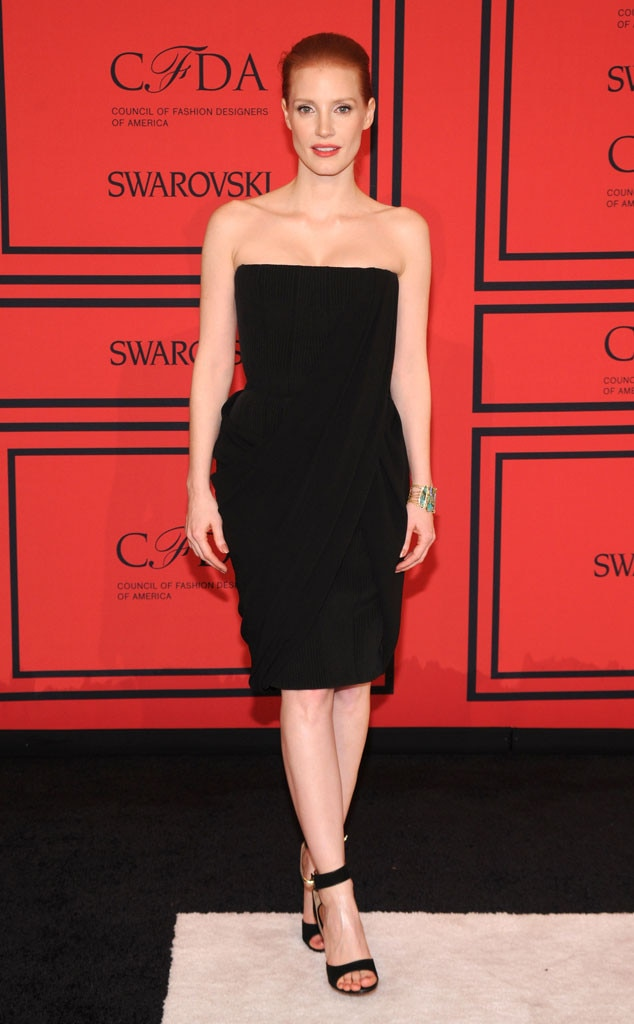 CFDA Fashion Awards, Jessica Chastain