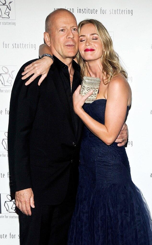 Emily Blunt, Bruce Willis