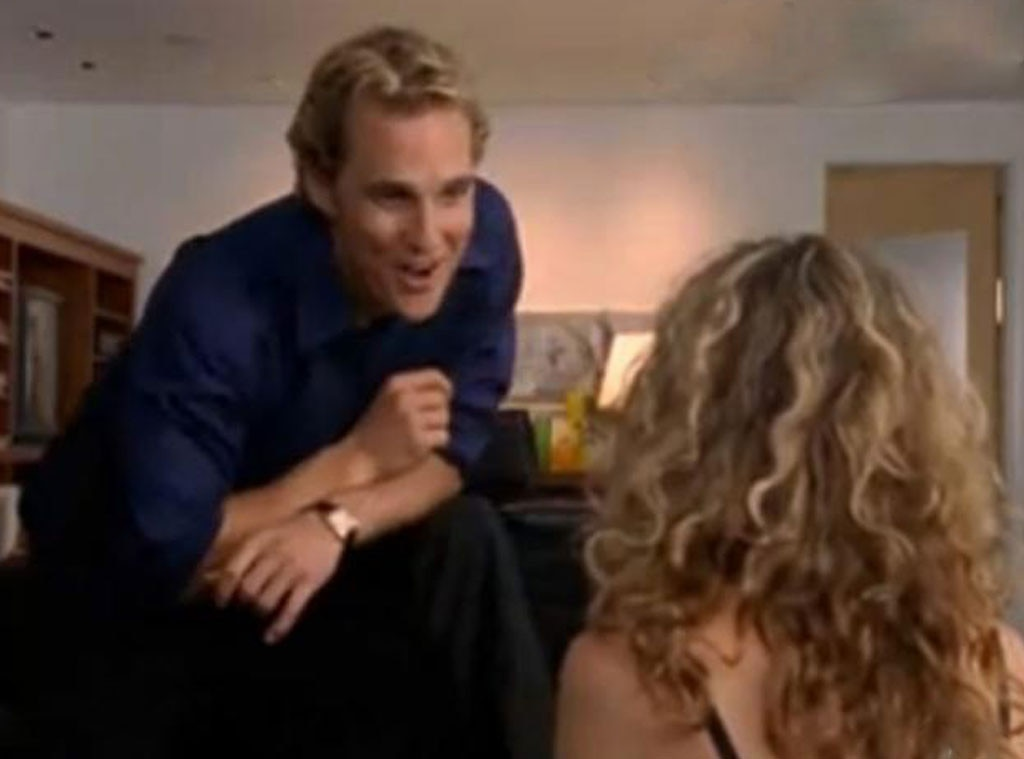 Mcconaughey sex and the city