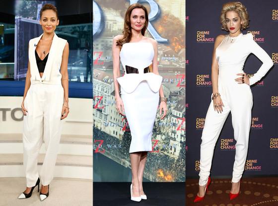 Nicole Richie, Angelina Jolie, Rita Ora