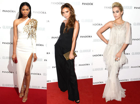 Chanel Iman, Victoria Beckham, Rita Ora