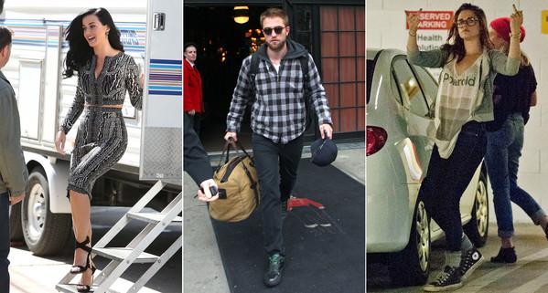 Katy Perry, Robert Pattinson, Kristen Stewart