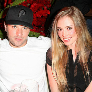 Ryan Phillippe, Paulina Slagter, STK LA 5 year anniversary party