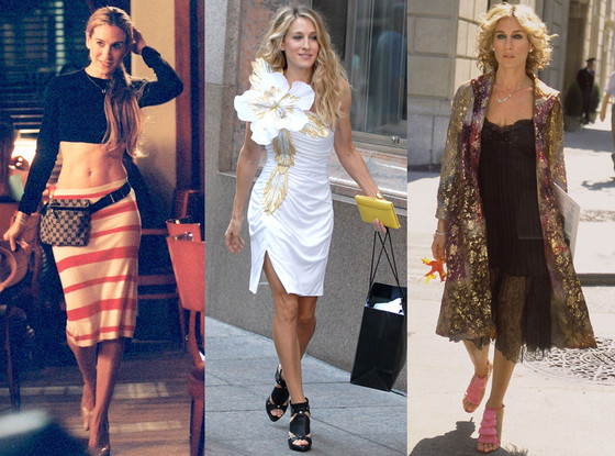 Carrie Bradshaw Best Outfits 17 Of Our Favorite Looks From Sex And The City  E News-5677