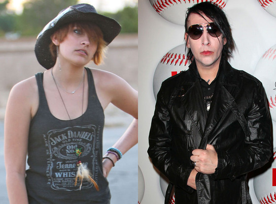Paris Jackson, Marilyn Manson