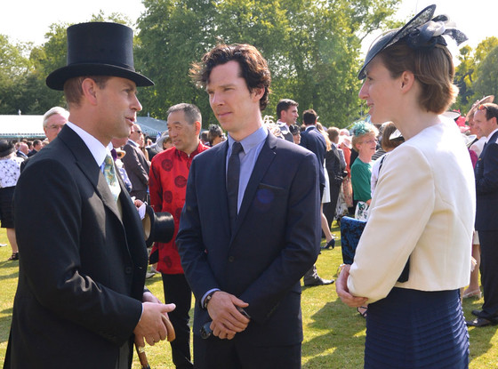 Benedict Cumberbatch, Prince Edward, Earl of Wessex