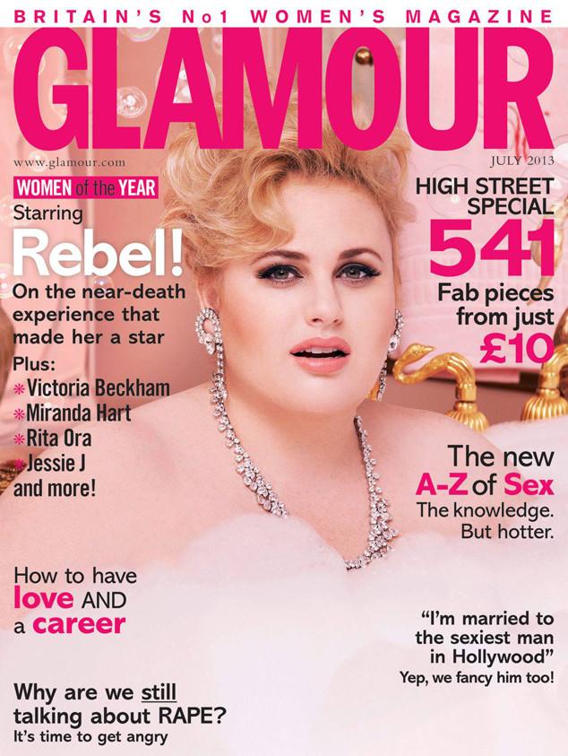 Anna Kendrick - Glamour UK Magazine February 2017 Issue
