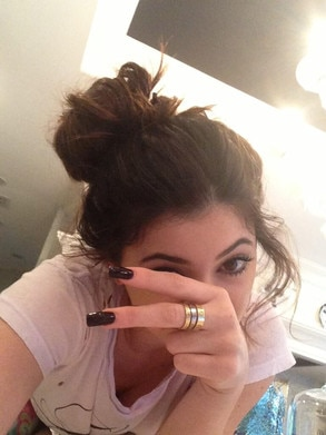 Kendall Jenner, Kylie Jenner, Twit Pic