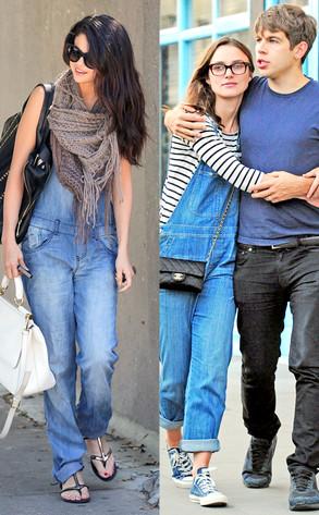 Selena Gomez, Keira Knightley