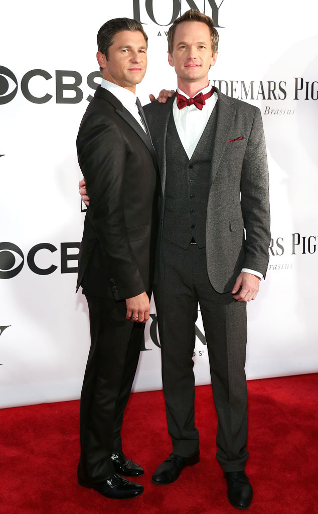 David Burtka, Neil Patrick Harris, Tony Awards