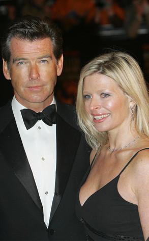 Pierce Brosnan, daughter