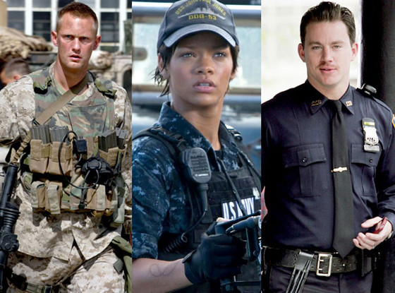 Channing Tatum, Rihanna, Alexander Skarsgard