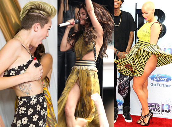 Miley Cyrus, Selena Gomez, Amber Rose