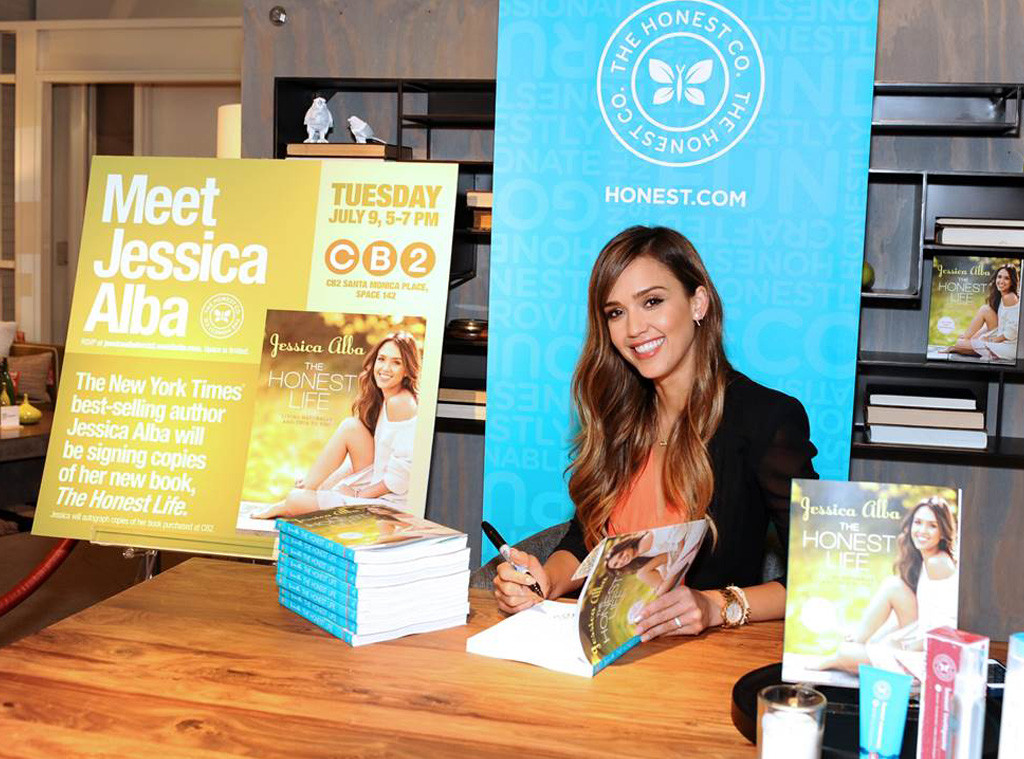 Jessica Alba, The Honest Company, Celebs With Green Brands